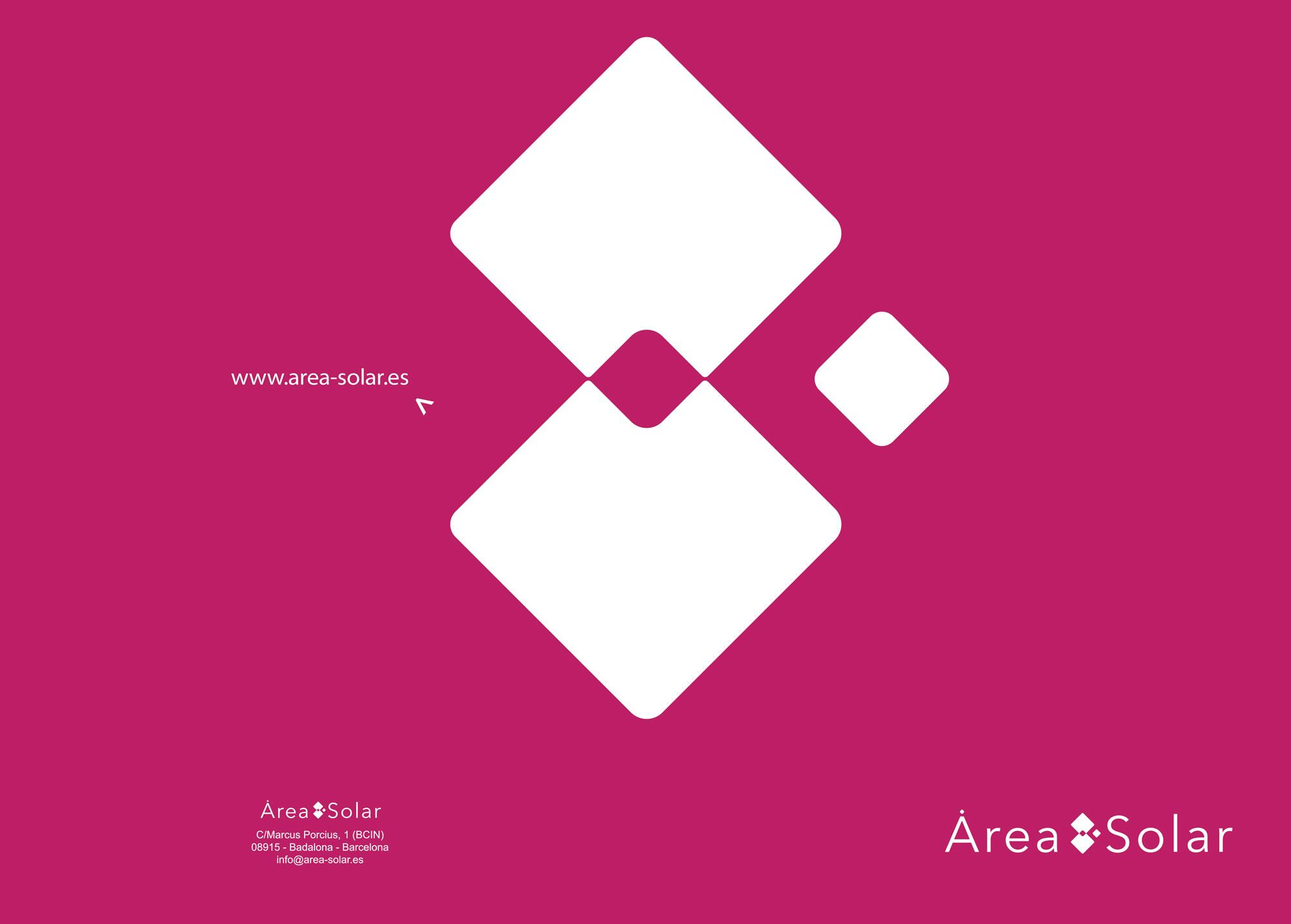 Logotipo Area Solar - Impresión Badalona