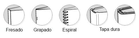 Tipos de encuadernación